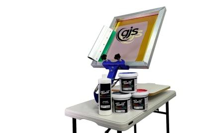 Screen Printing Hobbyist Starter Kit
