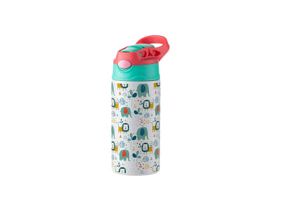 Kids Stainless Steel Bottle with Straw