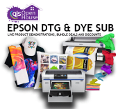 Epson DTG and dye sublimation Open House