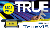 Trade-in to a new Roland TrueVIS and receive up to $5,000 cash-back