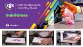 How to sublimate SubliGlass photo blocks