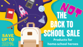 Not Back to School savings