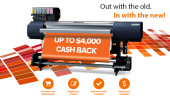 Trade-in to a new Roland and receive up to $4,000 cash-back