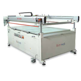 Keywell Four Post Semi Automatic Glass Printer