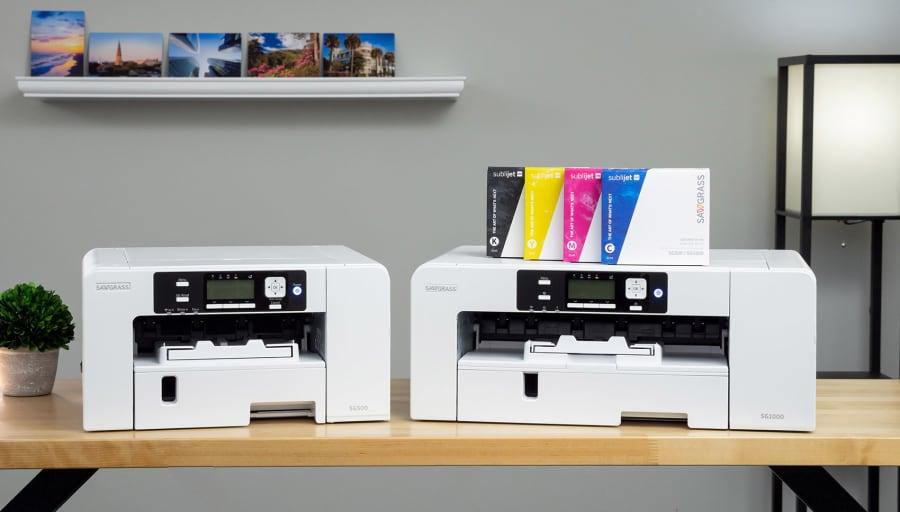 New Sawgrass desktop dye sublimation printers