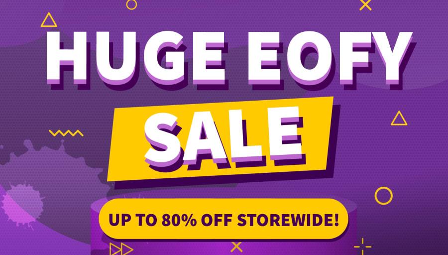 Huge EOFY sale on now!