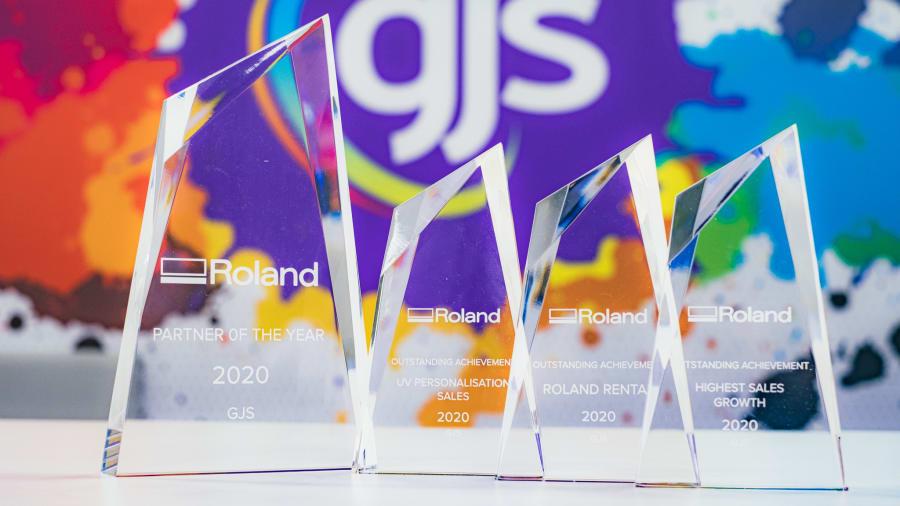 GJS named Roland DG Partner of the Year