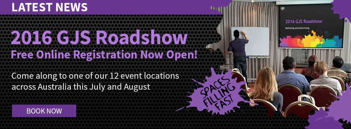 GJS Roadshow is back for 2016