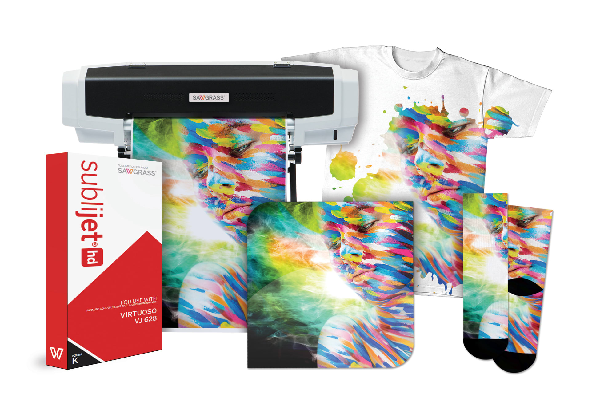 New Virtuoso VJ628 High-Definition Dye Sublimation Printer