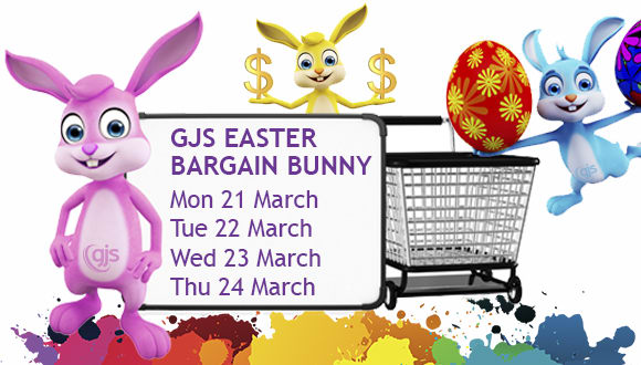 Bag a Basket of Goodies, Each Day of Easter with GJS!