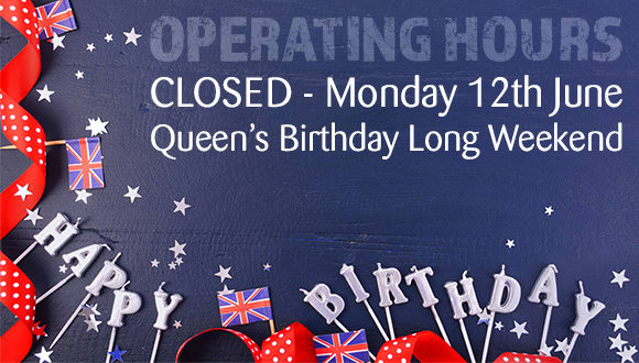 Queen's birthday weekend operating hours