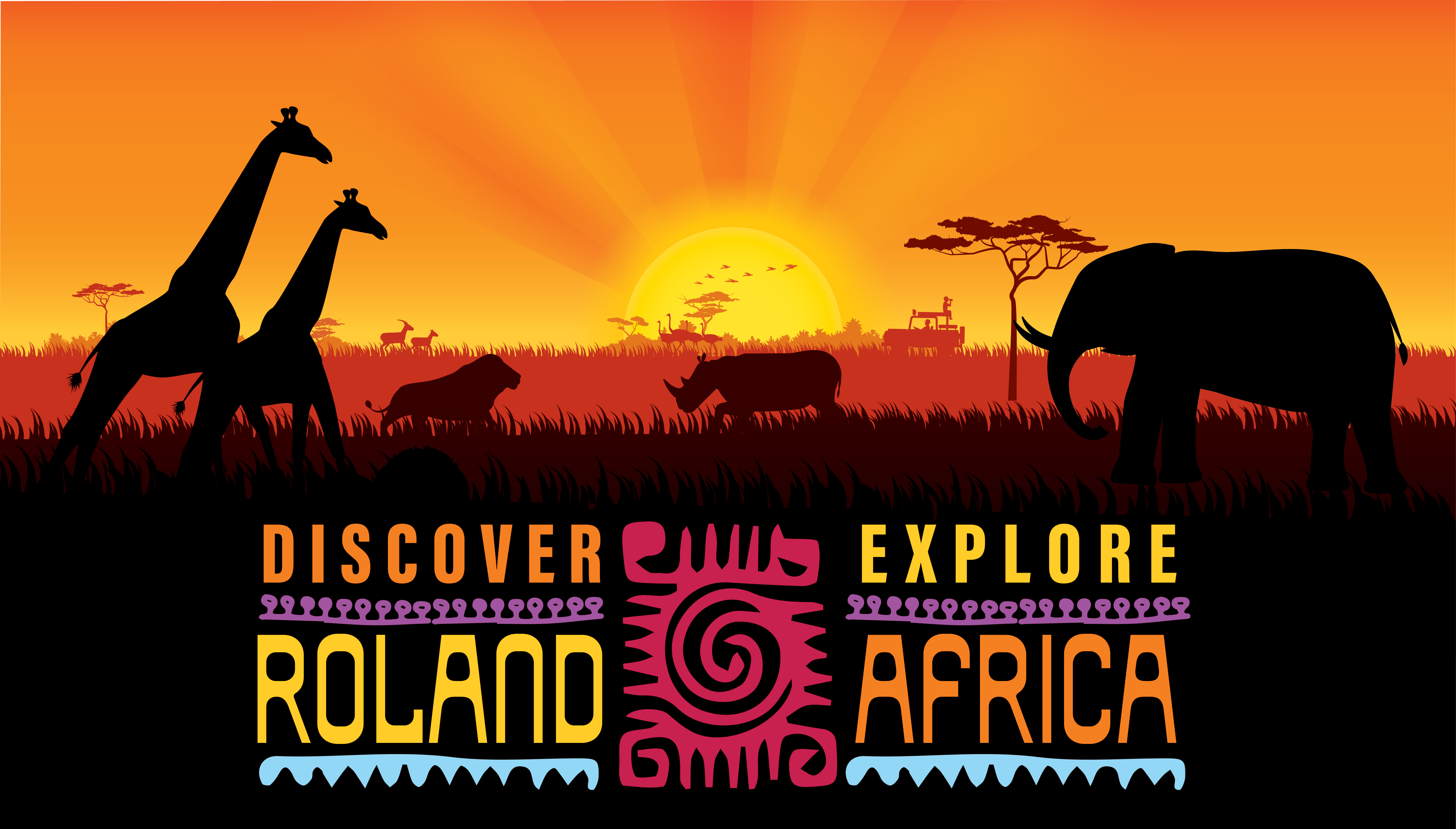 Discover Roland, explore Africa!