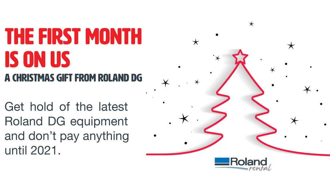 Roland Rental Christmas special