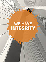 We have integrity
