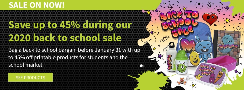 2020 Back to School Sale