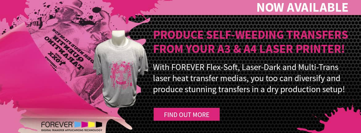 FOREVER Laser Heat Transfer Films