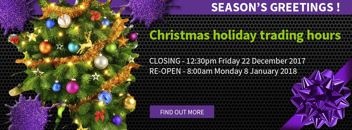 Christmas and New Year Trading Hours