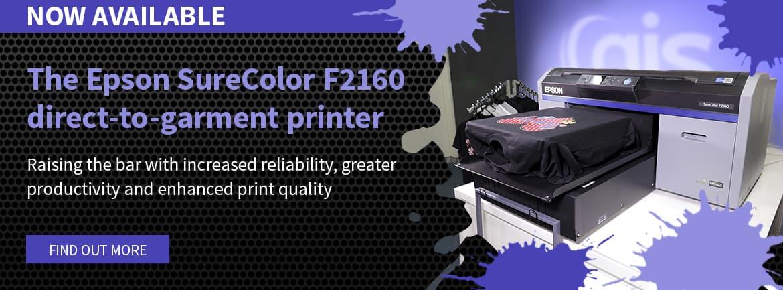 Epson SC-F2160 DTG Printer