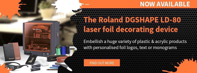Roland LD-80 Laser Foil Decorator