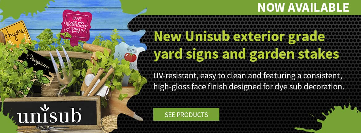 New Unisub Metal Outdoor Stakes