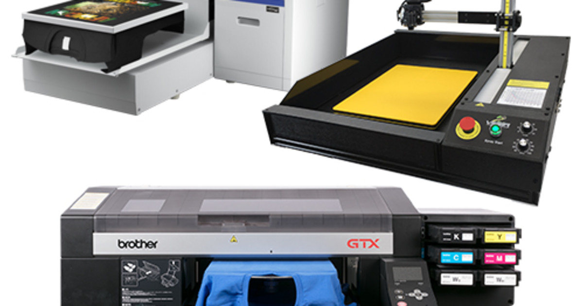 Direct to Garment DTG Printers and Pre-Treatment Equipment