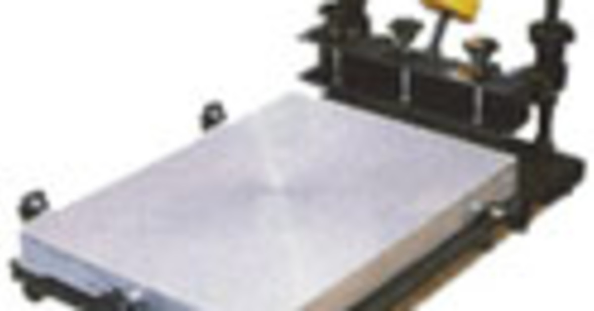 Bench Top Printing Table For Screen Printing