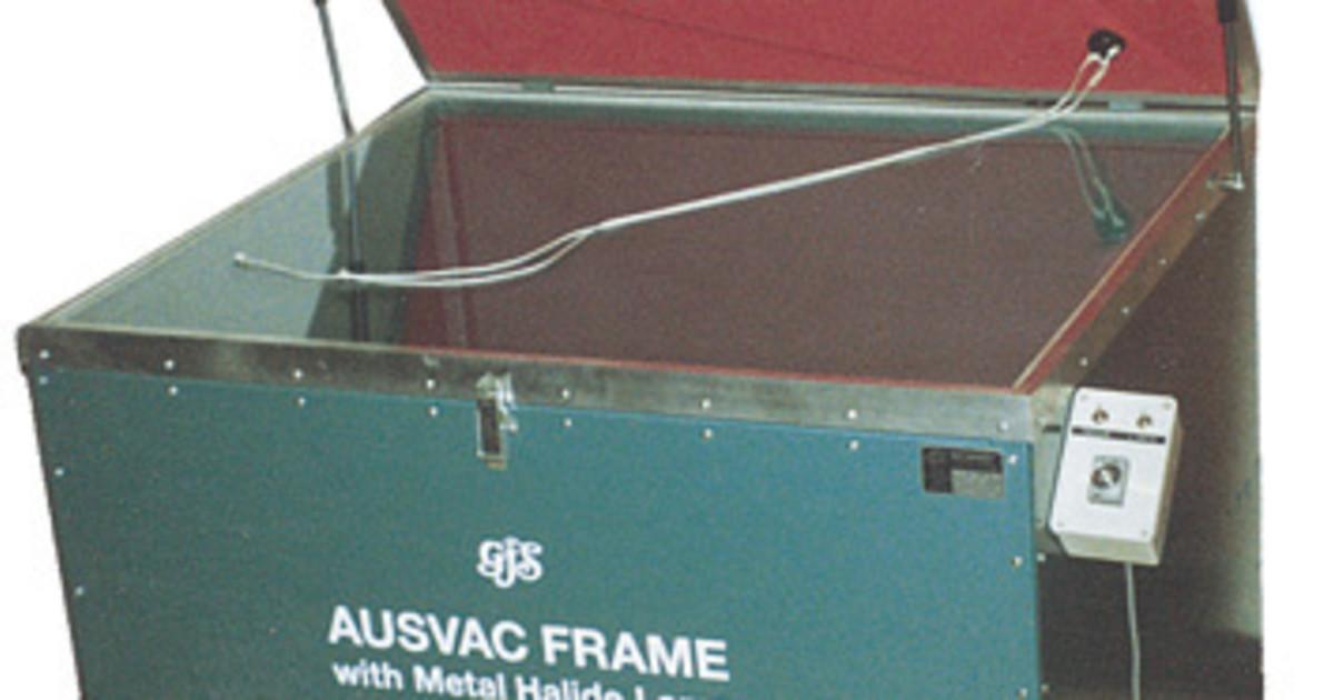 Aus Vac Frame With Metal Halide Lamp Vacuum Frames