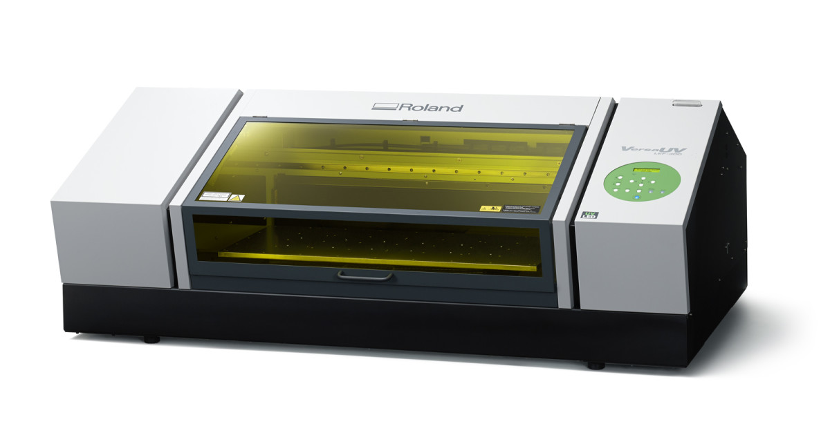 Roland Lef 300 Versauv Benchtop Uv Flatbed Printer