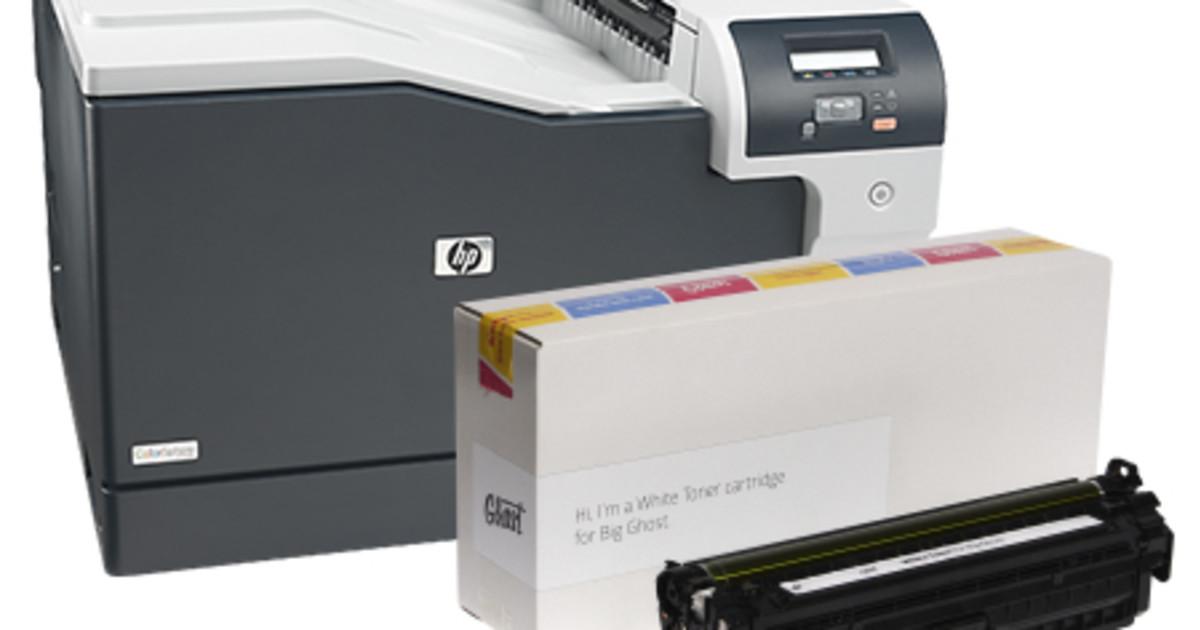 Big Ghost A3 White Toner Printer