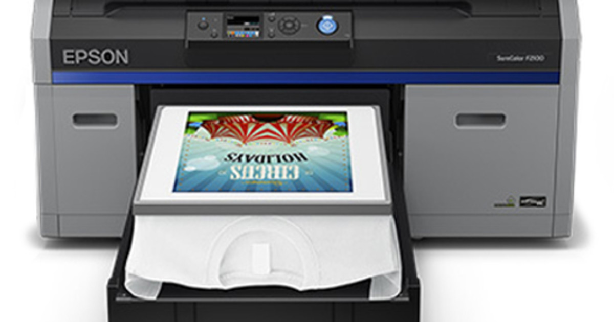 01115581 Epson SureColor SC-F2160 Desktop DTG Printer