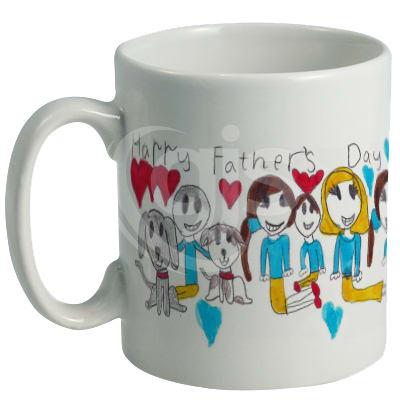 Ceramic Mugs   White
