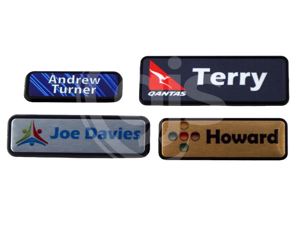 Name Badge Plastic Holders