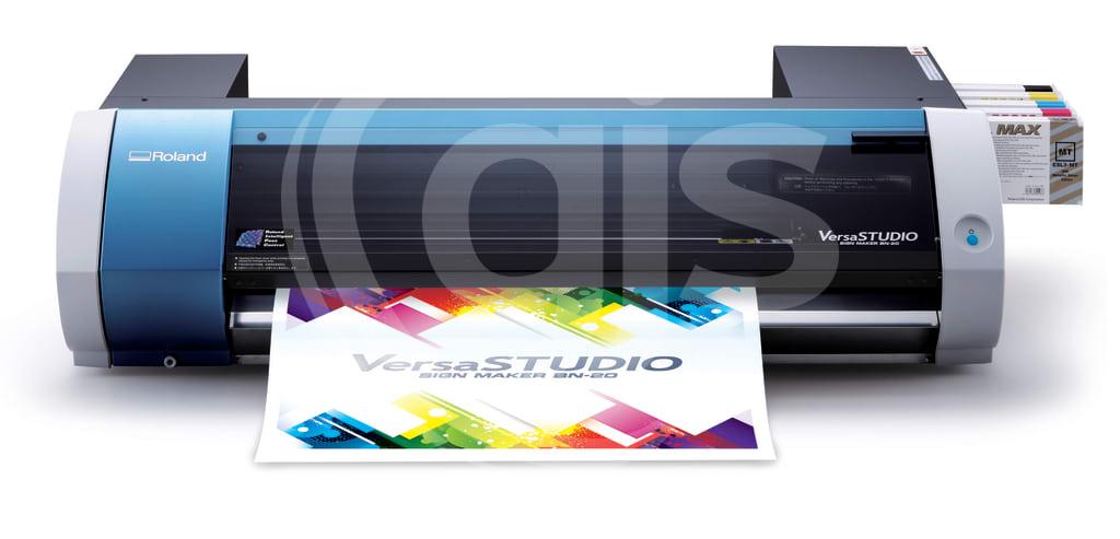 Roland VersaSTUDIO BN-20 Metallic Desktop Eco-Solvent Printer/Cutter