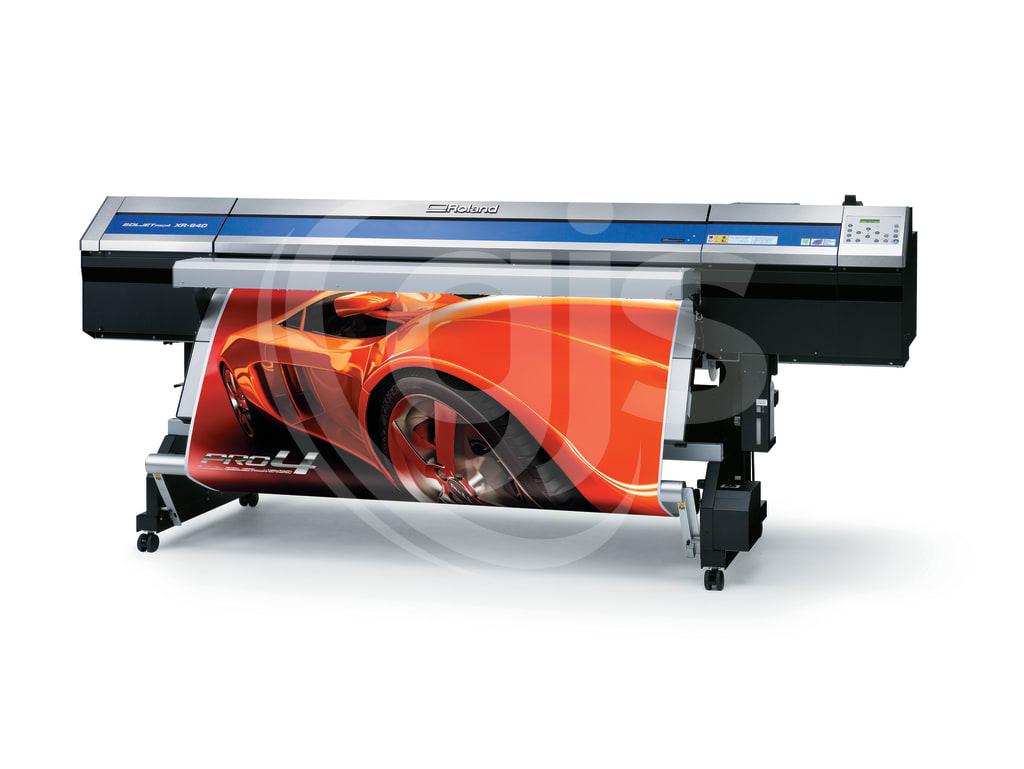 Roland SOLJET XR 640 Printer Cutter