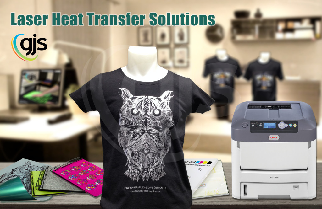 photograph relating to Laserjet Printable Vinyl called What are Laser Warm Transfers?