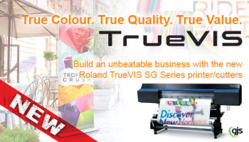 GJS Introduces the Roland TrueVIS SG Series Printer/Cutters