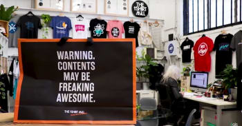 [VIDEO] The Tshirt Mill: taking the custom t-shirt world by storm
