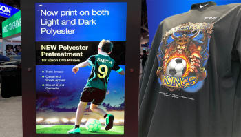 Printing on polyester now possible with Epson DTG