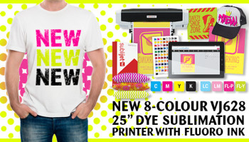 Introducing SubliJet-HD Fluorescent (FL) Inks