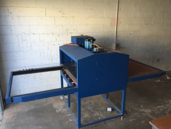GJS Wide Format Flat Bed Heat Press - Double Shuttle