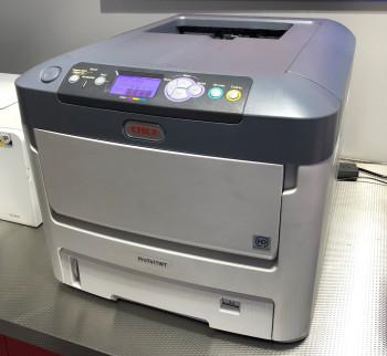 Ex Demo OKI Pro7411WT A4 White Toner Printer