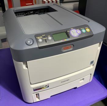 Ex-Demo OKI Pro7411WT A4 White Toner Printer