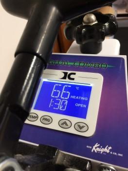 Geo Knight DC16 Digital Combo Heat Transfer Press