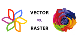 The difference between raster and vector files and when you should use them