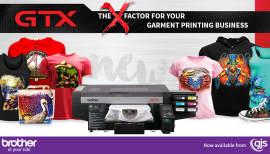 [VIDEO] Brother GTX garment printer - first look