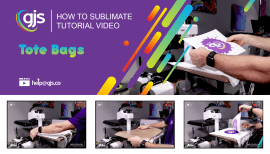 [VIDEO] How to sublimate tote bags