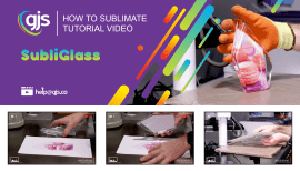 How to sublimate SubliGlass photo blocks