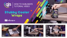 How to sublimate stubby cooler wraps