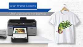 Finance an Epson DTG printer from $160 per week