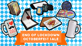 Celebrate with our End of Lockdown Octoberfest sale!